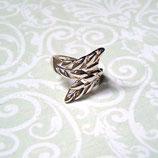 Ring Blätter 925 Sterling Silber