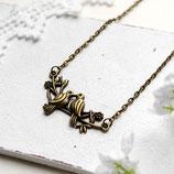 Turteltauben • Halskette bronze | Halsschmuck