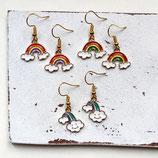 Regenbogen • Ohrhänger | Ohrschmuck | Farbwahl