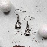 Weihnachtsmütze • Ohrhänger | Ohrschmuck | Weihnachten