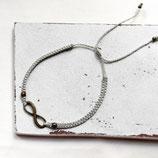 Infinity • Armband Makramee | Farbwahl | Armschmuck