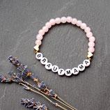 Brautmama • Armband Glasperlen | Schmuck gold | Perlenarmband