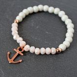 Anker • Armband Perlen | Armschmuck | Freundschaftsarmband