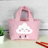Kindertasche ~ Wölkchen | Wendetasche | Personalisiert