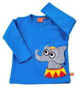 "Lipfish LA Shirt, Motiv ""elephant"" Farbe ""blue""4082"