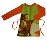 Ba*Ba Winter- Kleid LA Katze Orange