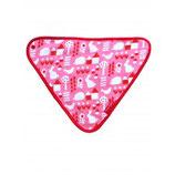 Toby Tiger Dreieckstuch Garten pink