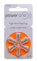 補聴器電池 パワーワン PR48(13)