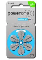 【人工内耳電池】パワーワン インプラントプラス