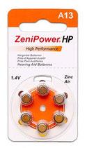 補聴器電池 ゼニパワー PR48(13)
