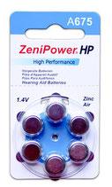 補聴器電池 ゼニパワー PR44(675)
