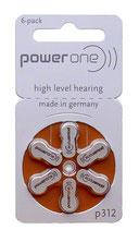補聴器電池 パワーワン PR41(312)