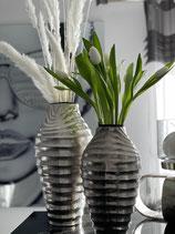 Colmore Vase Alu Raw Ni geriffelt 2 Größen