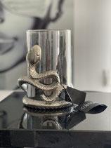 Colmore Windlicht Snake 2 Größen Alu Raw Ni