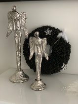 Engel von Colmore by Diga Alu /Raw Ni 15x14x50cm in 2 Größen