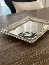 HazenKamp Luxus Tablett Alu Raw Nickel 2 Modelle zur Auswahl