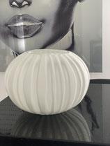 Colmore Vase rund  weiss 22 x22 x 16