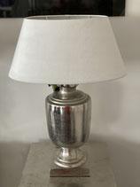 Colmore Lampe Fuss Alu Raw Ni 18x18x49cm
