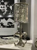 Colmore Windlicht Lilie 3- teilig inkl. Glas Alu/Raw/Ni