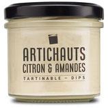 Artichauts, citron & amandes