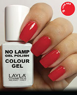 Layla No Lamp Gel Polish 09 live red