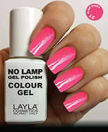 Layla No Lamp Gel Polish 21 fluo pinky