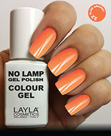 Layla No Lamp Gel Polish 22 fluo orangy