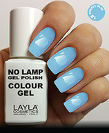 Layla No Lamp Gel Polish 18 breezy blue