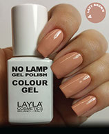 Layla No Lamp Gel Polish 04 lazy brown