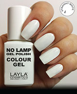 Layla No Lamp Gel Polish 01 straight white