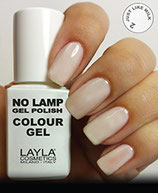Layla No Lamp Gel Polish 02 just like milk