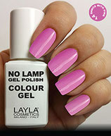 Layla No Lamp Gel Polish 14 dance with pink