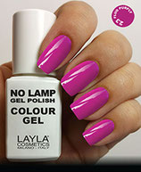 Layla No Lamp Gel Polish 23 fluo purply