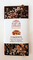 Tavoletta cioccolato fondente con frutta secca