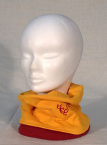 "Turban ""Rouge Jaune"""
