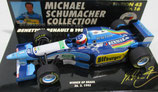 Benetton Renault B 195 M. Schumacher Brasil Winner 1995