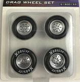 Tire GMP  Drag Wheel Set  1/18