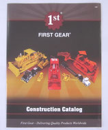 2009 First Gear Construction catalog of construction equipment and trucks