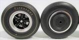 Tire Acme 5 Spoke Mag Wheel Set 1/18