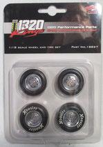 Tire GMP 1320 Drag Wheel Set  1/18