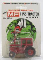 Massey Ferguson 1155 Tractor Blueprint Card Ertl