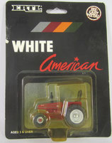 White American Tractor w/ Rops