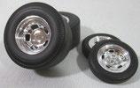 Tire GMP Gasser Wheel Set Mazmanian  Willys 1/18