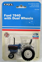Ford 7840 Tractor with Duals  Ertl 1992