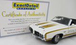 1972 Oldsmobile Hurst Pace Car Lane