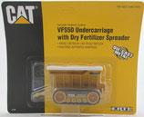 Cat Dry Fertilizer Spreader with VFS50 Undercarriage