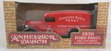 Anheuser Busch 1936 Ford Panel Truck Bank **** ERROR ***