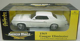 1969 Cougar Eliminator White