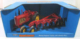 Massey Harris 555 Tractor & Plow Set  Ertl