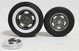 Tire GMP Acme Hot Rod Kidney Bean Wheel Set 1/18